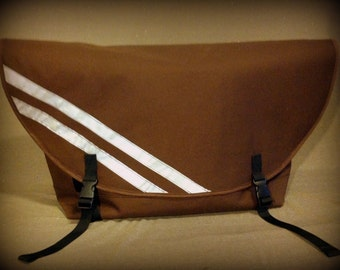 Waterproof bike messenger bag, LARGE, cordura, custom colors, by SIREN bags