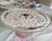 Shabby Chic Cake Plate