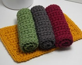 Eco Friendly Dishcloths - American Grown Cotton Set of 4