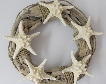 Coastal Decor Driftwood Wreath Beach Décor by SEASTYLE