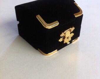 Ring box,  gift box, velvet ring box, black box,jewelry box, wedding ring  box,Proposal Ring box,  gift box,