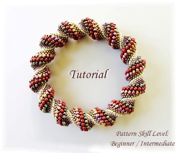 bead weaving bracelet instructions