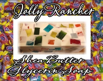 JOLLY RANCHER fragrance Shea Glycerin Soap.