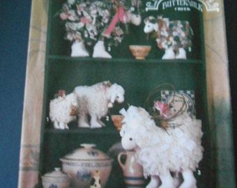 "Simplicity 7706, Rag Lambs, Crafts, size 7"", 9"", 12"""