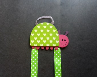 Lovebug Hair bow & Barrette holder
