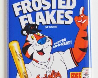 Baltimore Orioles Cereal Box Fridge Magnet