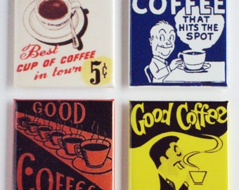 Good Coffee Fridge Magnet Set