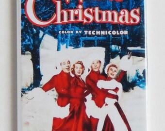 White Christmas Movie Poster Fridge Magnet (1.5 x 4.5 inches)