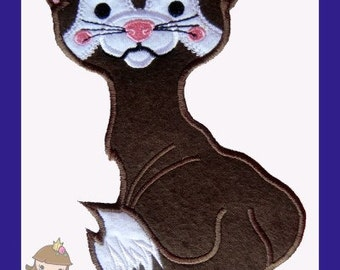 Ferret Applique design