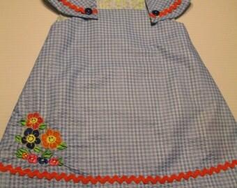 In The Garden Flower Reversible Dress