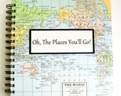 Graduation Gift Travel Journal - Custom Map