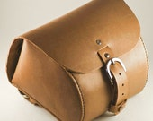 Leather Bicycle Bag, Hand...