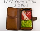 Leather LG G Pro 2 Wallet...