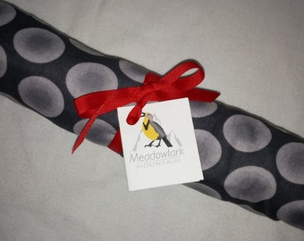 Mini Cosleeping Bassinette Sheet Grey Dots Print