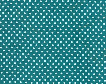 Moda - Dottie - Basic Dots Turquoise