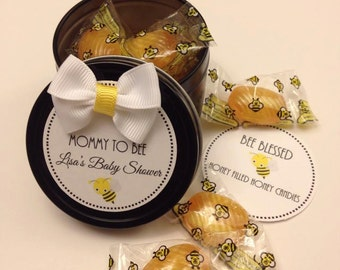 Mommy To Bee Honey Candies Favor