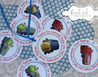 Chuggington Personalized Tags