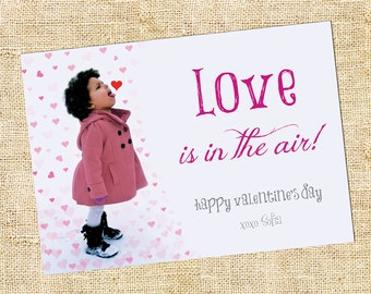 Love Is In The Air Valentine Card