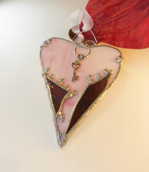 Lovely Apple Blossom Pink Heart.