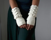Crochet pattern, girl and women fingerless glove pattern, wrist warmer crochet pattern, crochet glove pattern (183) Instant Download