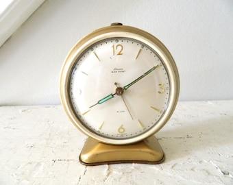 Vintage Alarm Clock Linden Black Forest Retro