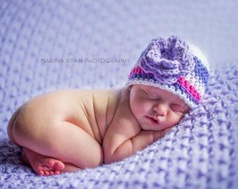 baby girl hat, newborn girl hat, crochet girls hat, girls hat, newborn girls hat, little girl hat, baby hat