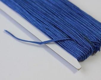 5.5 yards cobalt blue Soutache Braid, Passementerie Braid, embroidery, Soutache cord, Passementerie cord Trim, gimp cord, russian braid