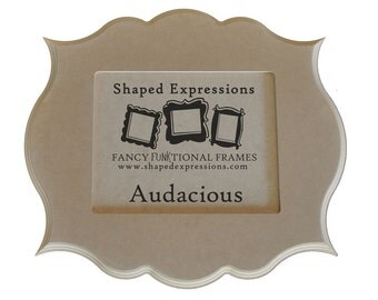 8x10 whimsical picture frame - Audacious unfinished