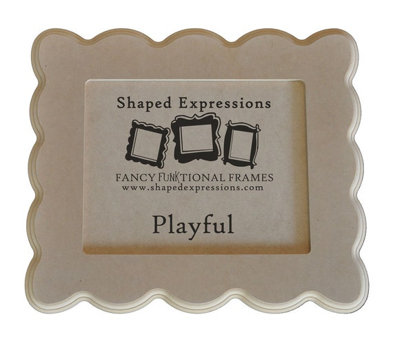8x10 picture frame - Playful unfinished