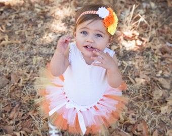 Candy Corn Costume, Candy Corn Tutu, Candy Costume, Baby Girl Halloween Costume, Baby Girl Halloween Tutu