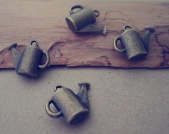 20pcs Antique Bronze Watering pot Pendant Charms 13mmx16mm