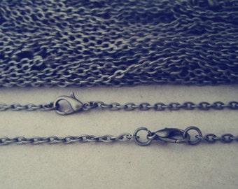 """100pcs  70cm Antique Bronze"""" o"""" shape Link  chain 3mmx4mm"""