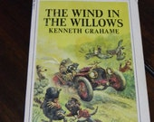 Vintage Paperback Book, The Wind in The Willows, Kenneth Grahame, Child Novel