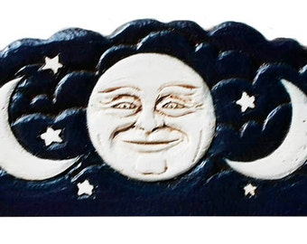 Celestial Moon Door Topper