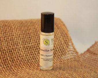 Vanilla Sandalwood Roll-On/100% Natural/Essential Oil Perfume