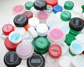 Recycled and Reusable Plastic Bottle caps For Crafts