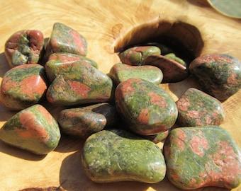 Unakite Tumbled Stone T105