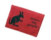 Tobacco pouch smoke pouch roo red