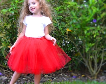 Custom Completely Sewn Tutu, 14-inch Long in Many Colors and Sizes