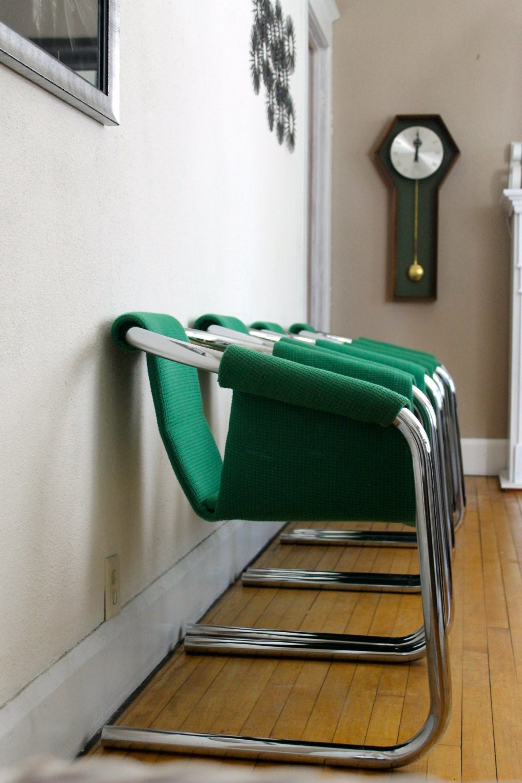 Astounding Shipping For Chairs Mid Century Modern Vecta Zermatt Tubular Evergreenethics Interior Chair Design Evergreenethicsorg