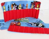 Cars Crayon Roll Up