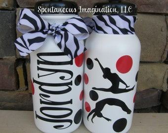 Gymnastics Sport Water Bottle - Gymnastics Gift Idea- Dance