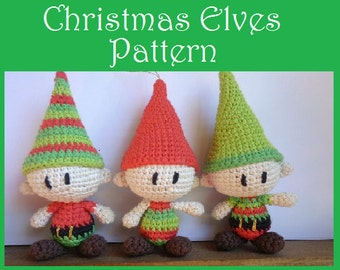 Christmas Elves Amigurumi Pattern
