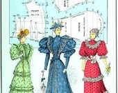 59 Authentic Turn of the Century Fashion Patterns, Book