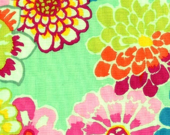 Kaffe Fassett - Asian Circles Green - 1/2 Yard Cotton Quilt fabric 516