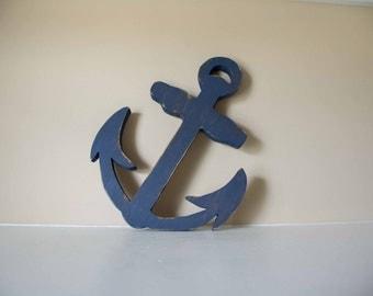 Wooden Anchor, Nautical Decor, Nautical Nursery, Sailing
