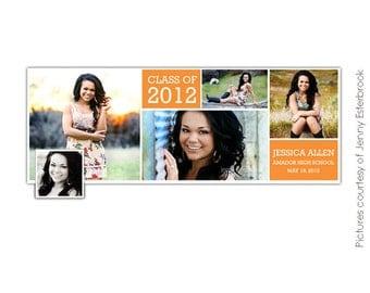 Facebook Timeline Cover Collection - Graduation Announcement - E379
