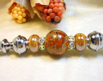 Beaded Bottle Opener, Hostess Gifts, European Style Beaded Gifts, Unique Gift Ideas, Housewares