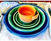 Vibrant Porcelain Dinner Plate