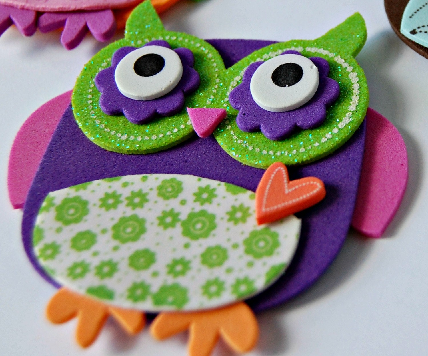 foam crafts ideas foam owl craft kit magnet craft activity 2039